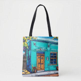 The Teal Green Tucson Barrio bag