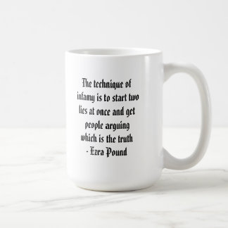 The Technique of Infamy is... Basic White Mug