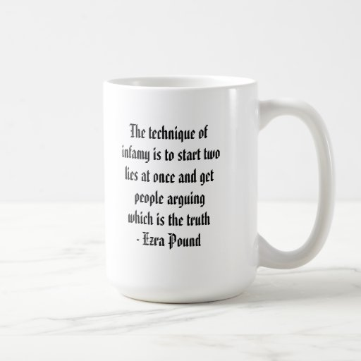 The Technique of Infamy is... Coffee Mug