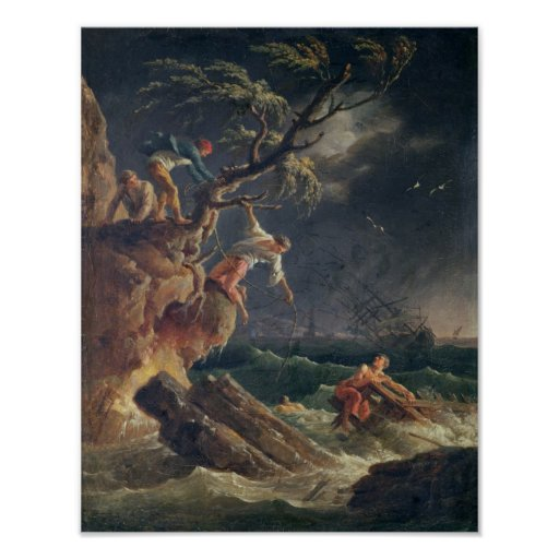 The Tempest, c.1762 Posters