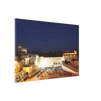 The Temple Mount in Jerusalem Gallery Wrapped Canvas