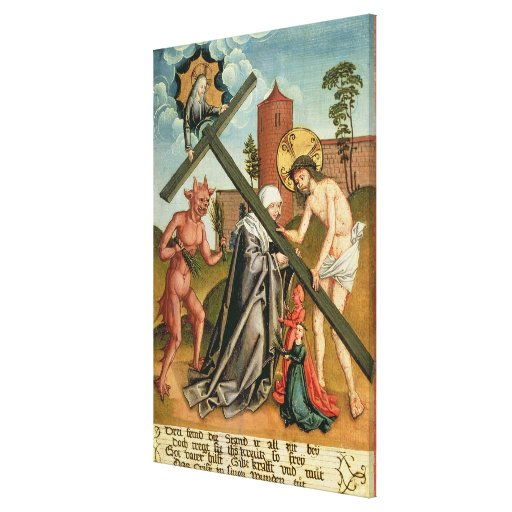 The Temptation of a Saint Canvas Print