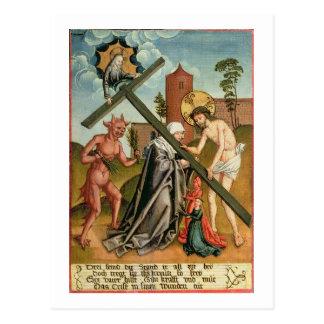 The Temptation of a Saint Postcards