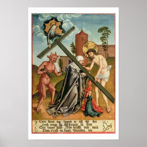 The Temptation of a Saint Print