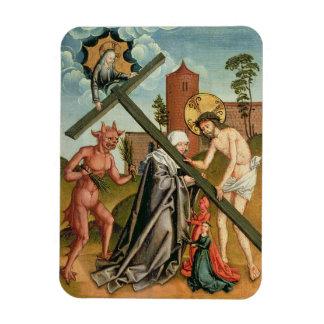 The Temptation of a Saint Rectangle Magnet