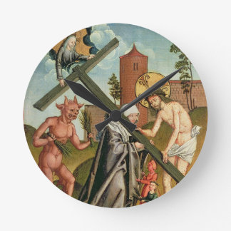 The Temptation of a Saint Wallclocks