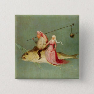 The Temptation of St. Anthony 2 15 Cm Square Badge