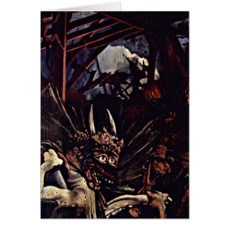 The Temptation Of St Anthony By Mathis Gothart Card