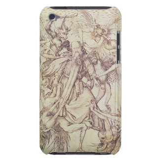 The Temptation of St. Anthony (engraving) Case-Mate iPod Touch Case