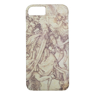 The Temptation of St. Anthony (engraving) iPhone 7 Case