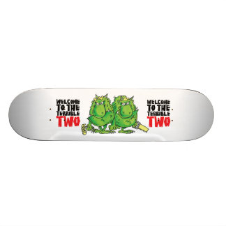 The Terrible Two deck Skate Board Deck