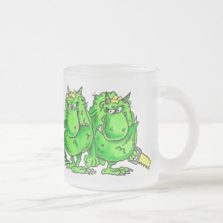 The Terrible Two frosted glass Frosted Glass Coffee Mug