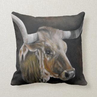 The Texas Longhorn 2 Cushion