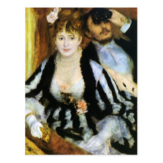 The Theater Box by Renoir Postcard