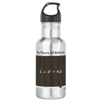 The Theory Of Bellytivity Water Bottle