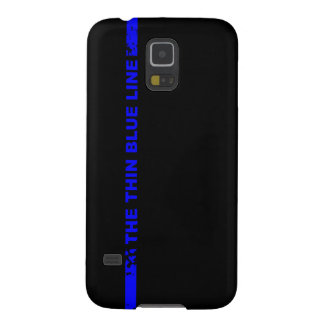 The Thin Blue Line Case For Galaxy S5