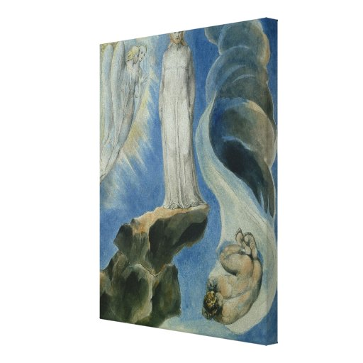 The Third Temptation Stretched Canvas Print