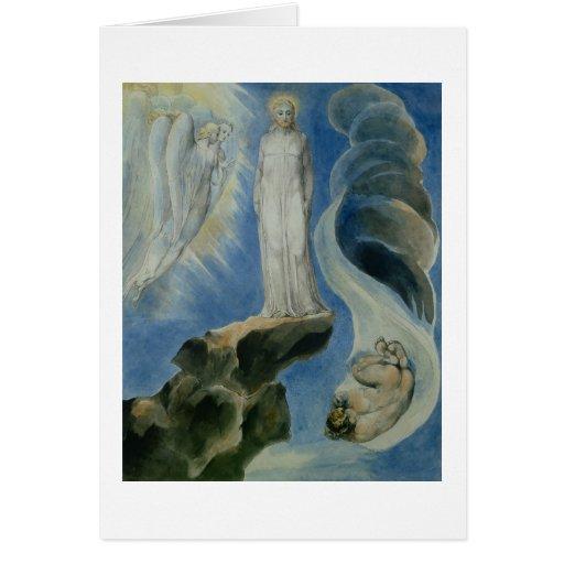 The Third Temptation Greeting Card