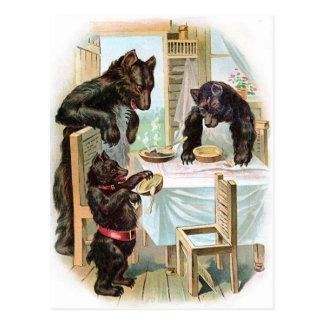 The Three Bears Postcard
