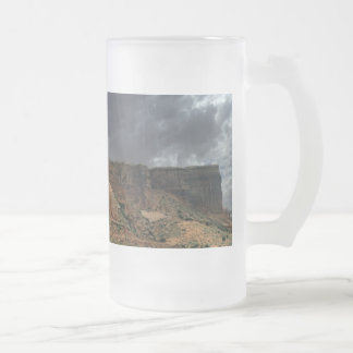 The Three Gossips Arches National Park Frosted Glass Beer Mug