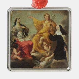 The Three Marys, 1633 (oil on canvas) Christmas Ornament