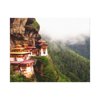 The Tiger's Nest Stretched Canvas Print