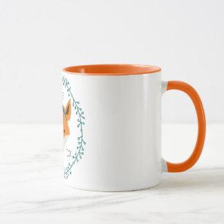 the tiny fox mug