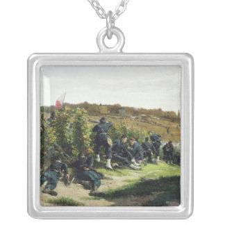 The Tirailleurs de la Seine Silver Plated Necklace