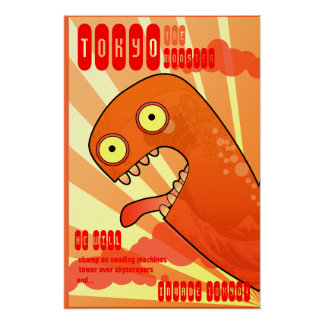 The Tokyo Monster Poster