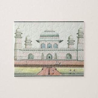 The Tomb of Itimad-Ud-Daula, near Agra, c.1830s (w Jigsaw Puzzle