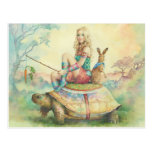 """The Tortoise And The Hare"" By Scot Howden Postcard"