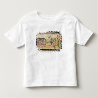 The Totonac Indians Helping the Conquistadors Toddler T-Shirt
