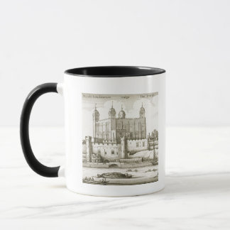 The Tower of London, 1647 (engraving) Mug