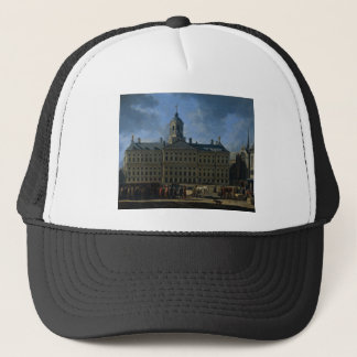 The town hall on the Dam, Amsterdam Trucker Hat