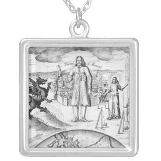 The Town of Mansoul Silver Plated Necklace