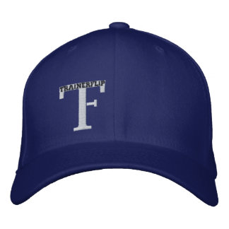 The Trainerflip hat in Large and in Royal Blue Embroidered Hats