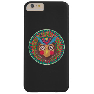 The Tribal Great Horned Owl Barely There iPhone 6 Plus Case
