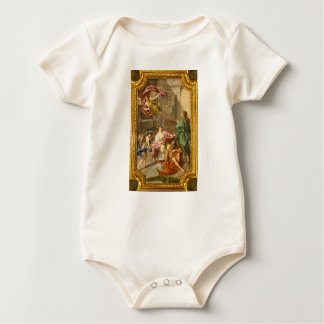 The Triumph of History over Time by Anton R Mengs Baby Bodysuit
