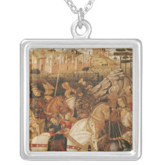 The Triumph of Julius Caesar Silver Plated Necklace