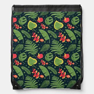 The Tropical Garden Drawstring Bag