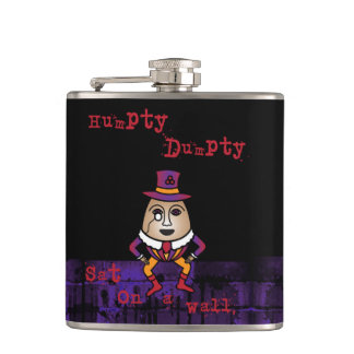 The Truth about Humpty Dumpty Hip Flask