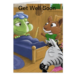 The Turtles Get Well Soon Card