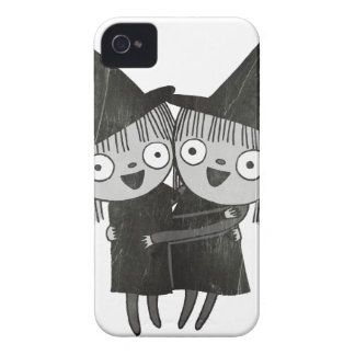 the twin witches iPhone 4 Case-Mate cases