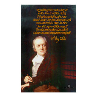 The Tyger by William Blake Poster