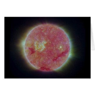 The Ultra Violet Sun Card