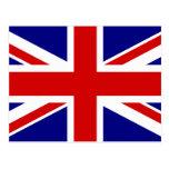 The Union Jack Flag Postcard