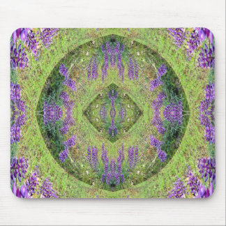 The valley of Lupines.... Mouse Pad
