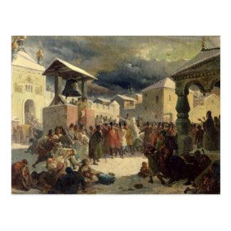 The Veche in the Republic of Novgorod, 1861 Postcard