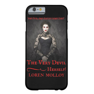 The Very Devil, Herself! iPhone case