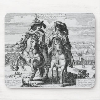 The Victories of Louis the Just, 1627 Mouse Pad